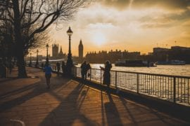 London Neighbourhood Guide, London Sunset