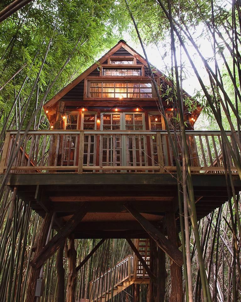 atlanta treehouse airbnb
