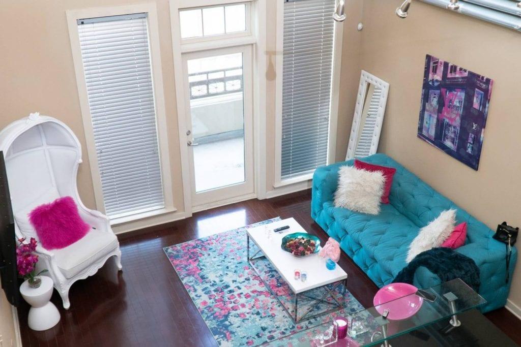 trendy loft atlanta airbnb