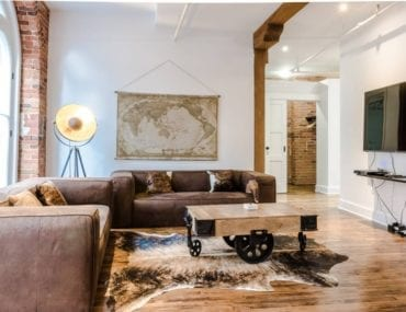 montreal airbnb loft with elevator