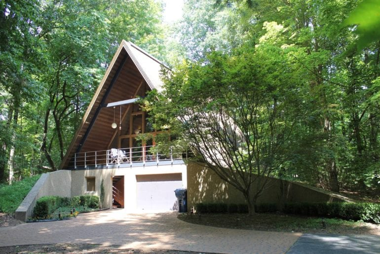 airbnb a frame house asheville nc