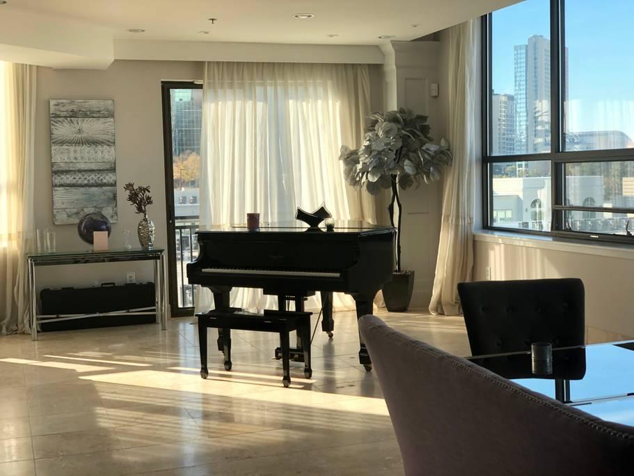 luxury penthouse atlanta airbnb