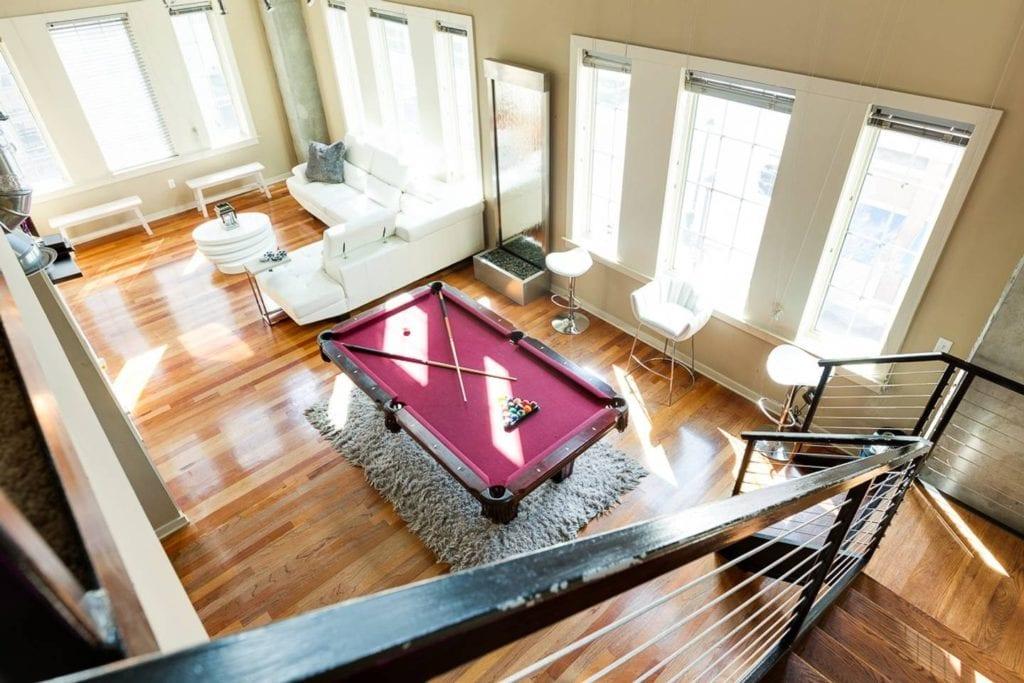 luxury downtown loft atlanta airbnb