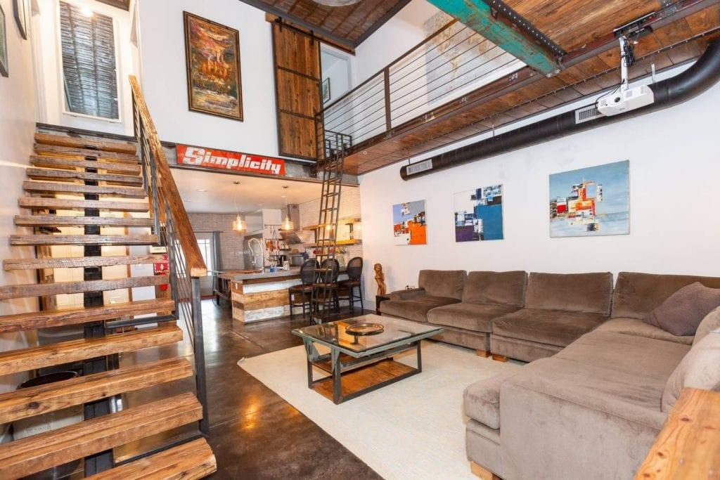 airbnb atlanta loft