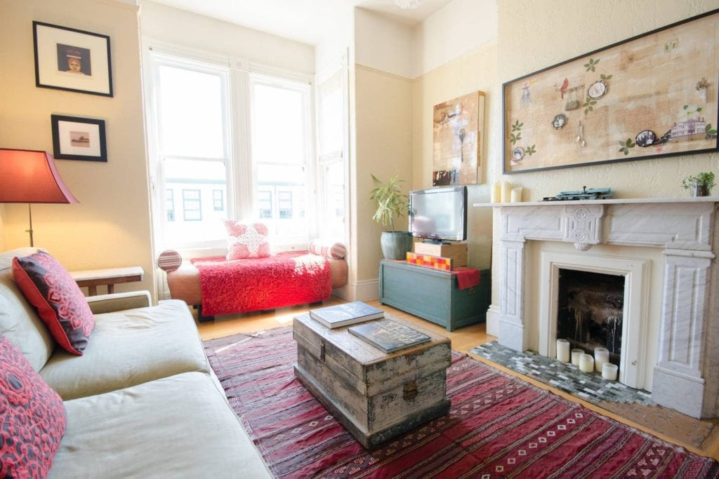 castro flat san francisco airbnb