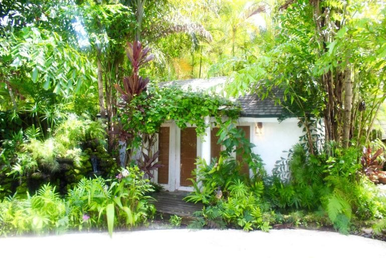 Secluded home tucked away in some greenery. Miami on the cheap.