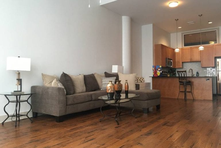 Airbnb New Orleans French Quarter The open floor plan of this condo gives it a bright and airy feel