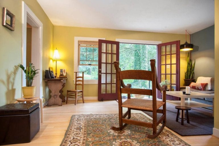 airbnb asheville paradise