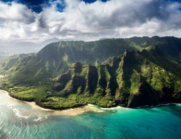 Hawaiian seashore