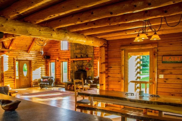airbnb vermont large cabin