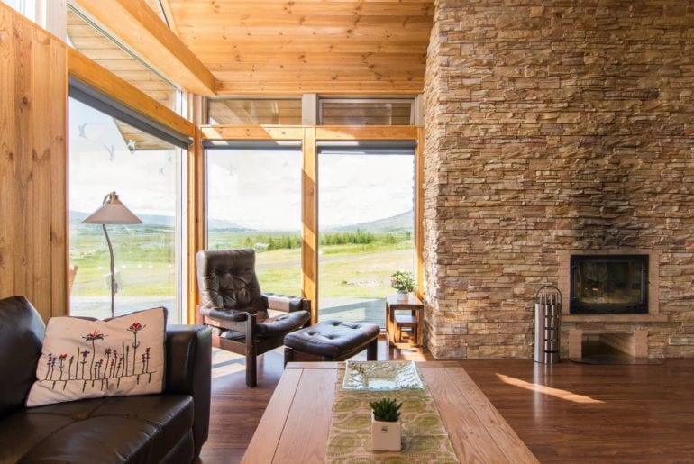 iceland airbnb chalet