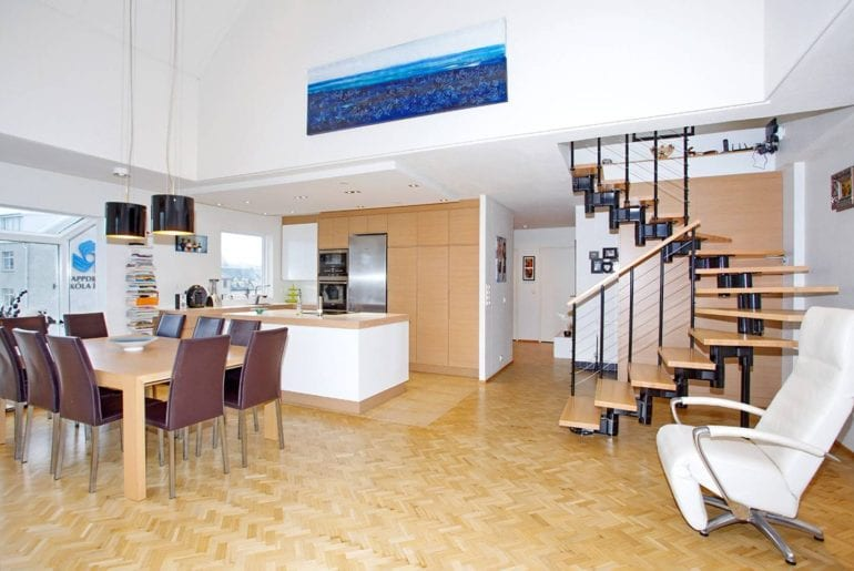 downtown penthouse iceland airbnb