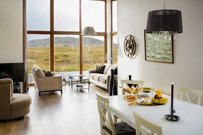 riverfront airbnb iceland