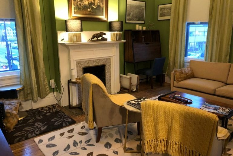 airbnb minneapolis downtown row house