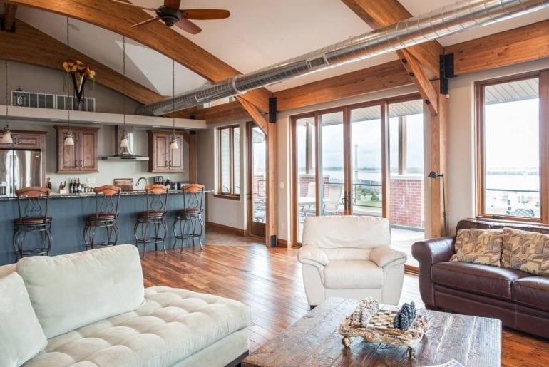 penthouse loft st louis airbnb rental
