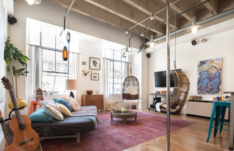 chic downtown los angeles loft airbnb