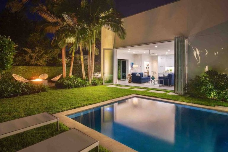 modern airbnb villa in key west