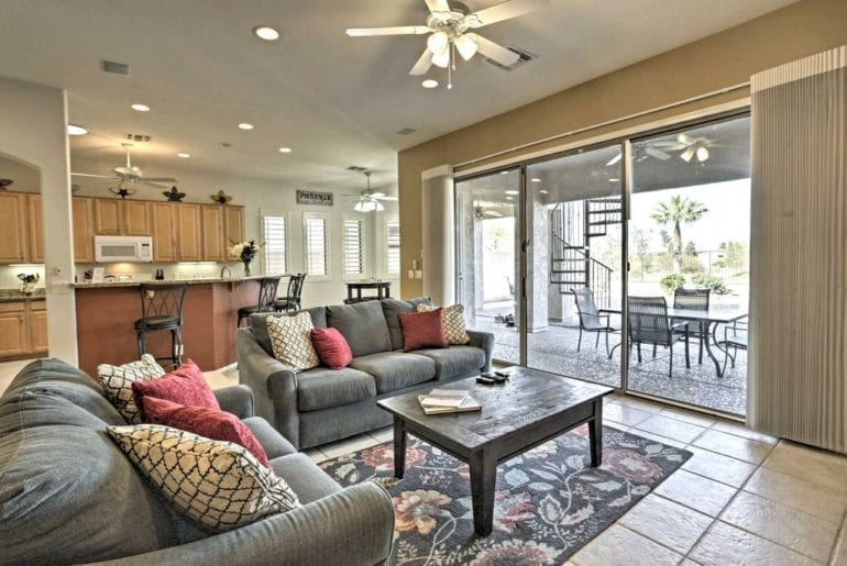 upscale south mountain home gated community golf course phoenix airbnb