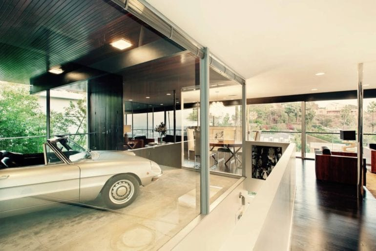 airbnb mid century modern house in west hollywood
