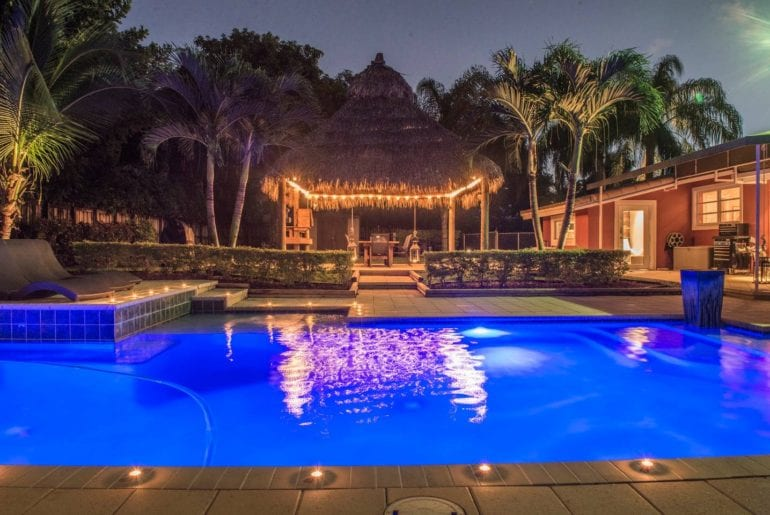 spectacular pompano beach pool home airbnb
