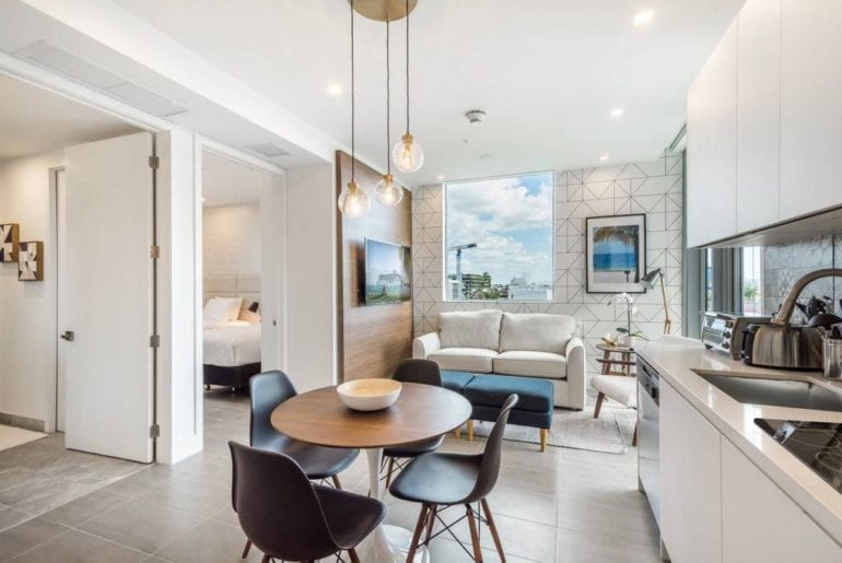 luxury 2 bed airbnb apartment south beach miami