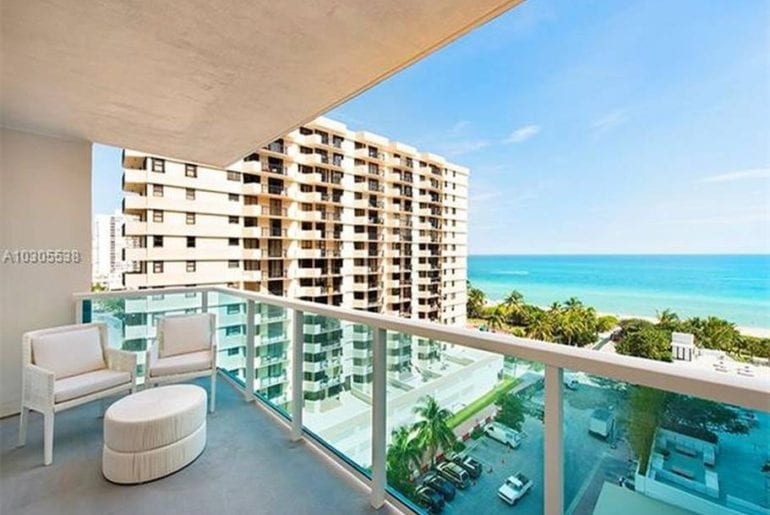south beach airbnb condo with rooftop pool