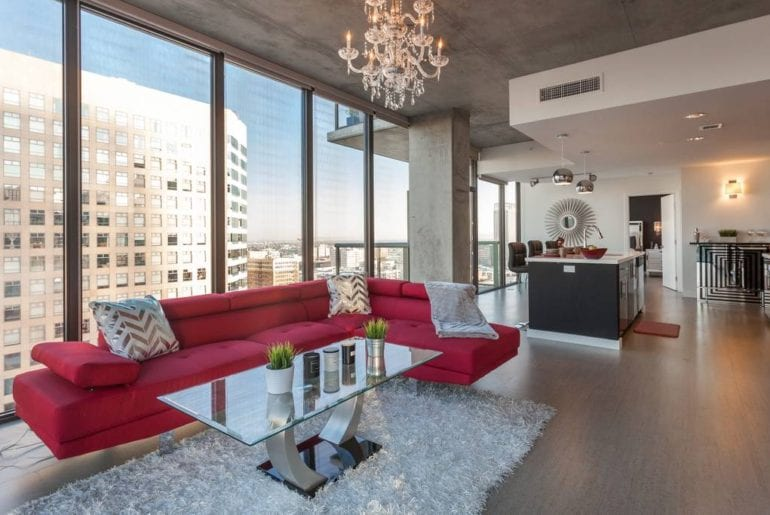 airbnb downtown loa angeles luxury penthouse