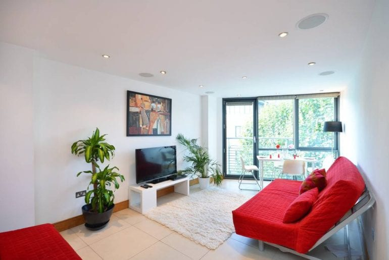 family apartment rooftop terrace airbnb camden town london