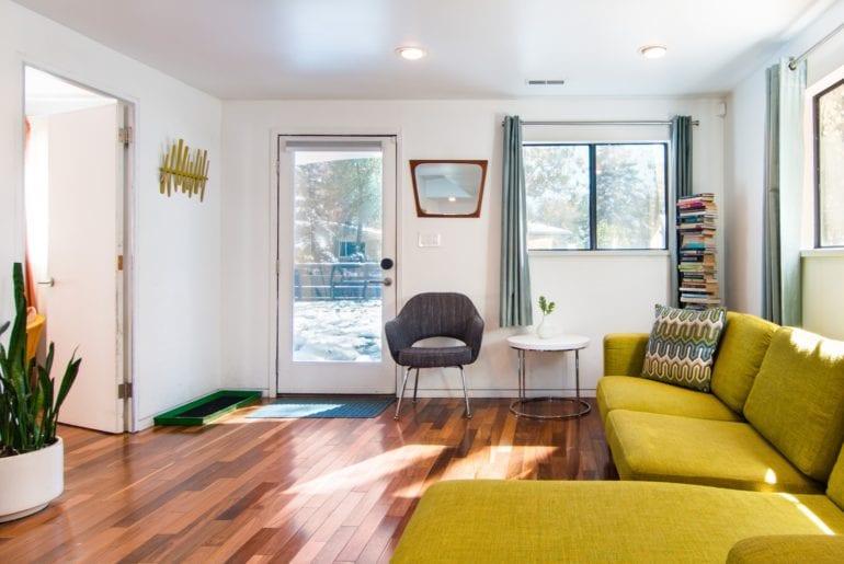 contemporary colorado airbnb home