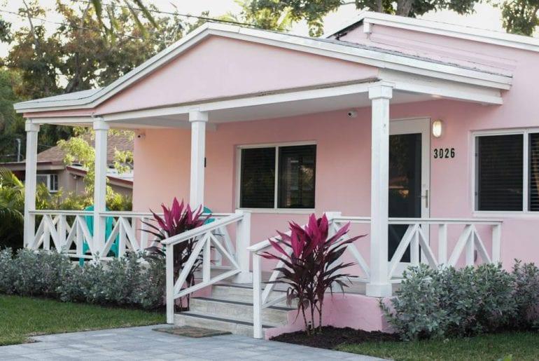 artistic airbnb miami bungalow