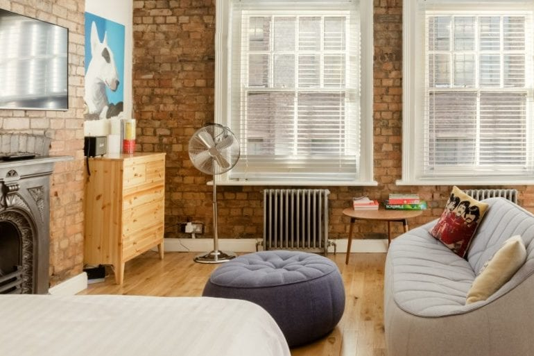 vintage airbnb shoreditch apartment