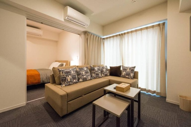 Modern Airbnb Tokyo Apartment