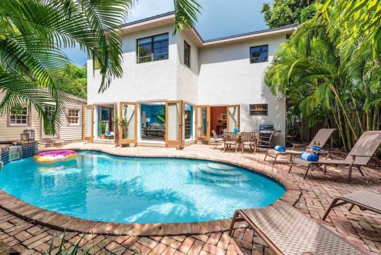 airbnb key west home with private pool
