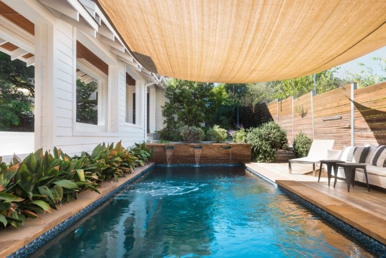 Austin Hilton Relax in the beauty of the outdoor space with a heated swimming pool