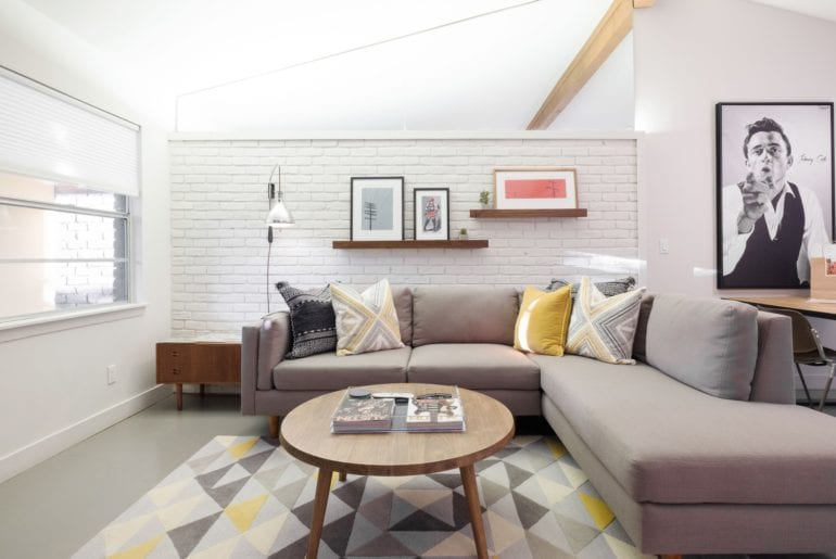 The chic decor gives this home a one of a kind feel. With modern touches and an airy feel. Austin Hilton