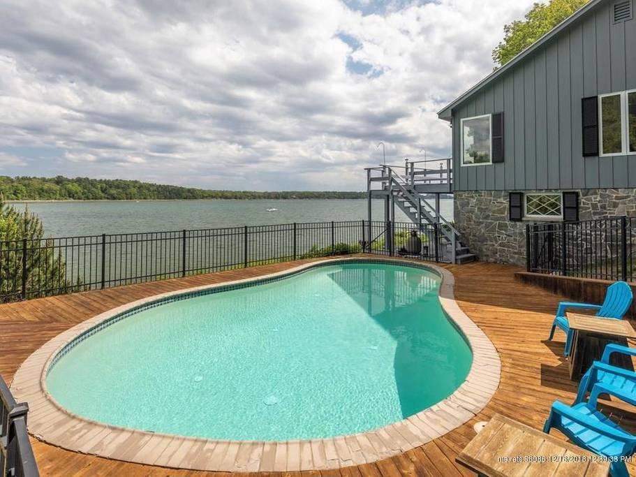 airbnb maine pool