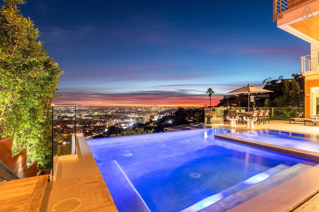 Hollywood Hills Mansion Los Angeles Architecture Highlight