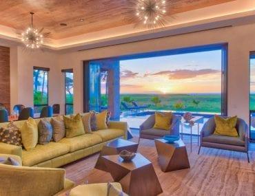 modern maui airbnb villa with ocean views