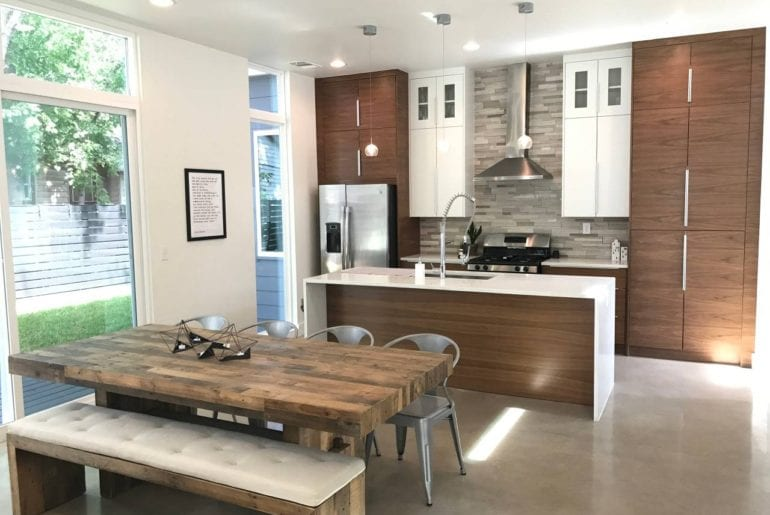 unique airbnb home in trendy east austin area
