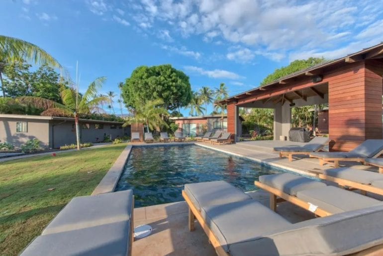 massive airbnb villa by the cove maui