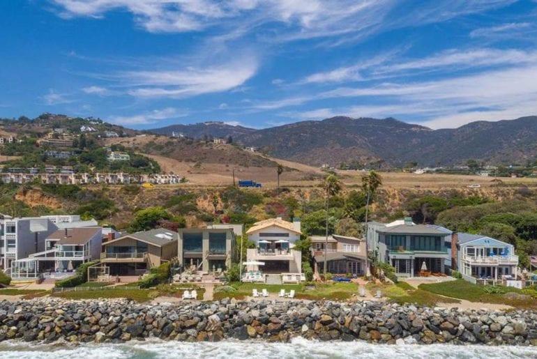 ibiza style malibu villa at the beach airbnb