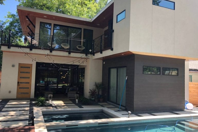 resort style airbnb oasis in downtown austin