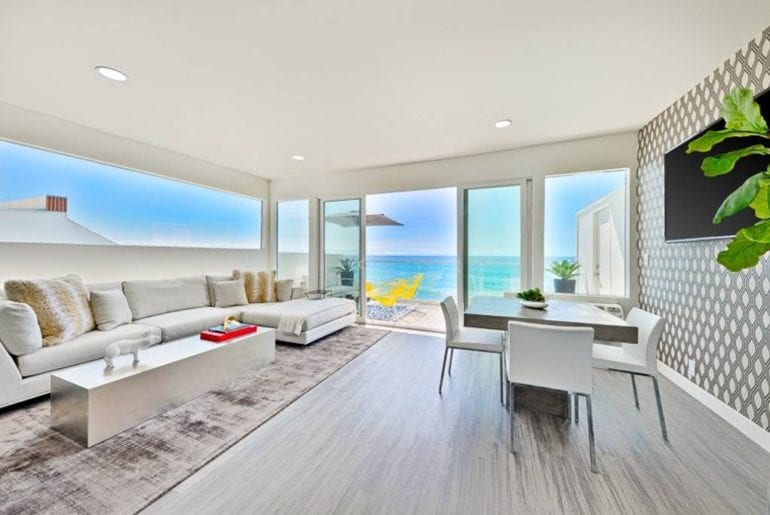 malibu oceanfront home with beach views airbnb