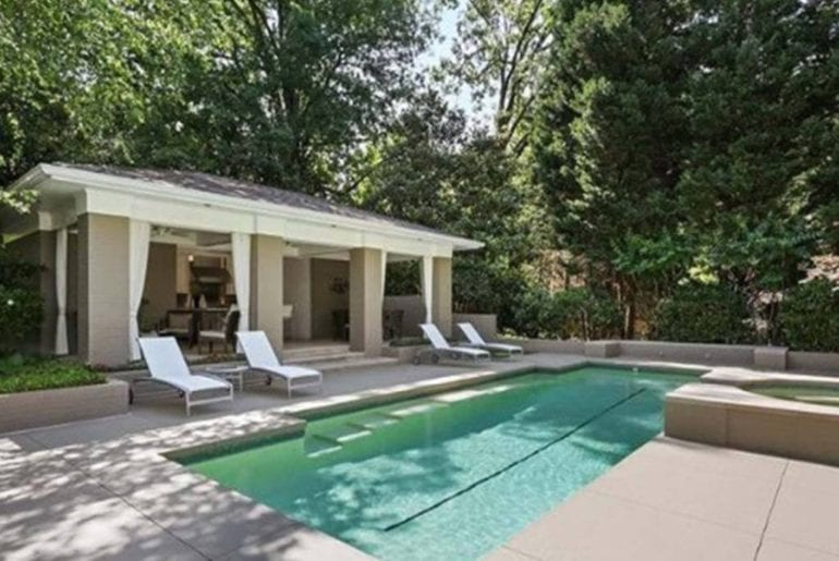 buckhead home with pool airbnb