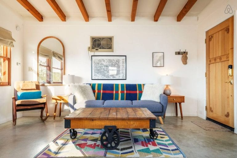 airbnb joshua tree cabin with pool
