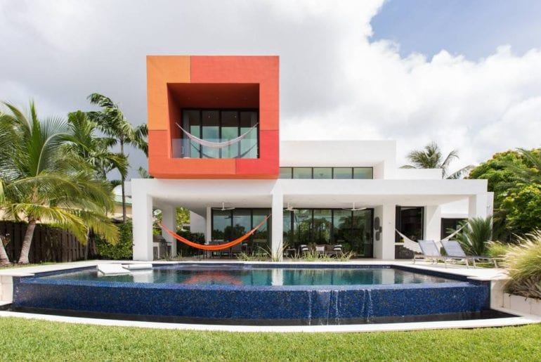 ultra modern airbnb home in wilton manors fl