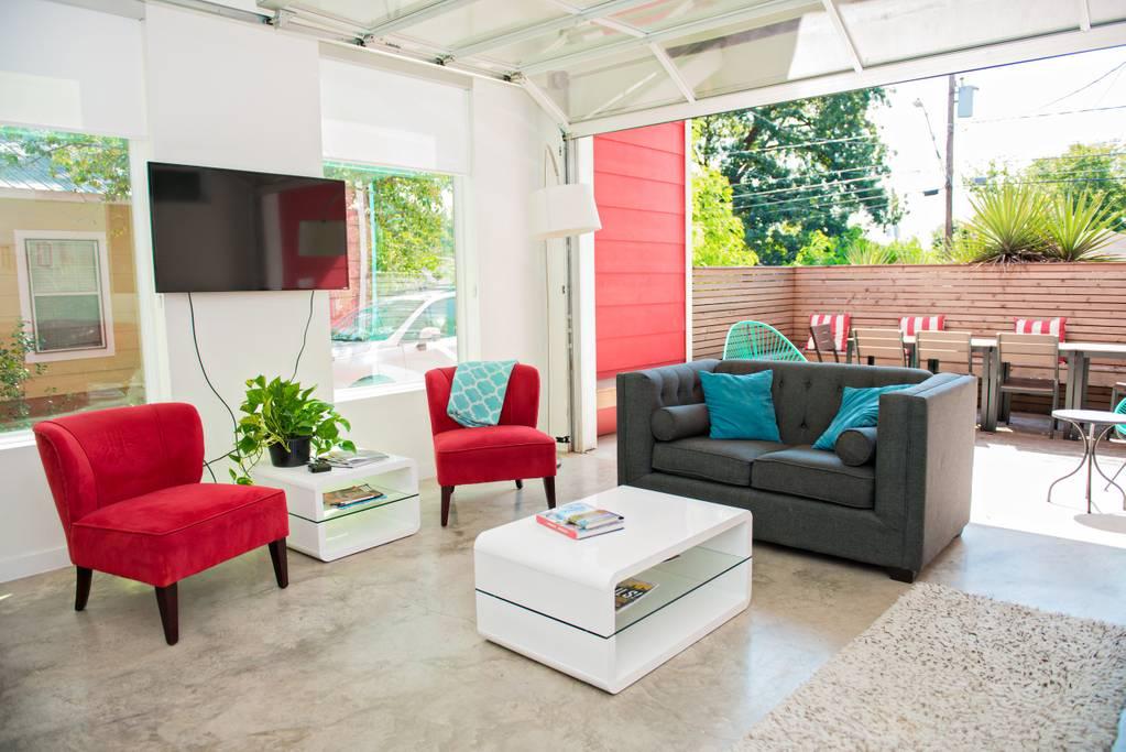 modern east airbnb austin airbnb home
