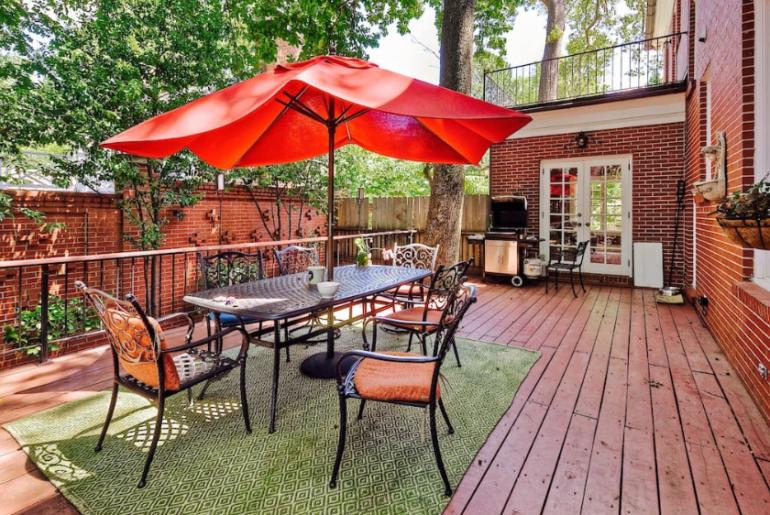 midtown atlanta mansion airbnb