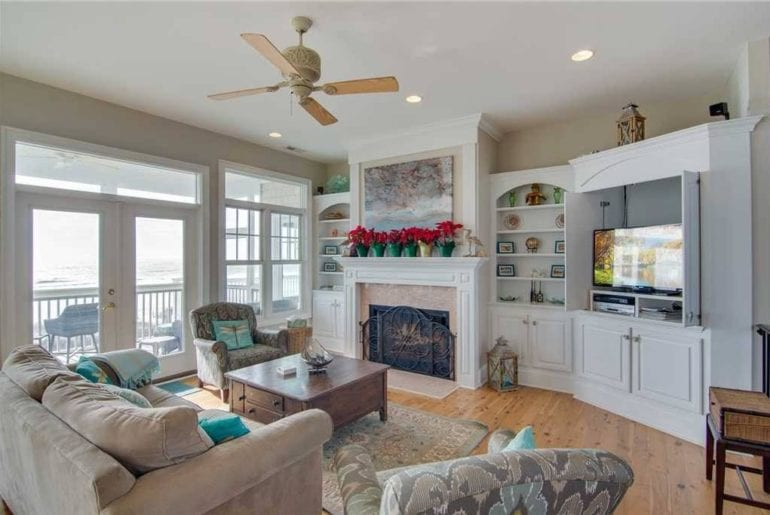 living room in Charleston, South Carolina