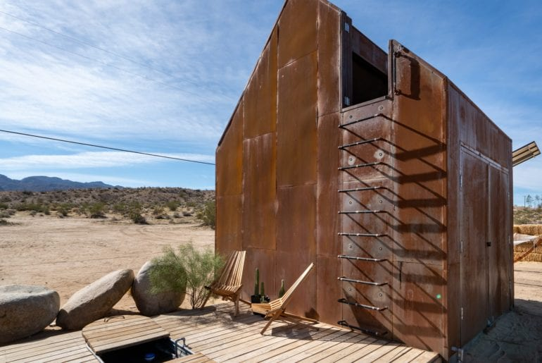 architect designed airbnb home joshua tree